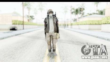 The Division Last Man Battalion - Engineer para GTA San Andreas segunda pantalla