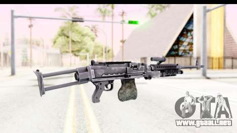 M240 FSK No Attachments para GTA San Andreas segunda pantalla