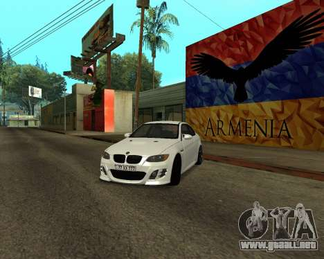 BMW M3 Armenian para GTA San Andreas