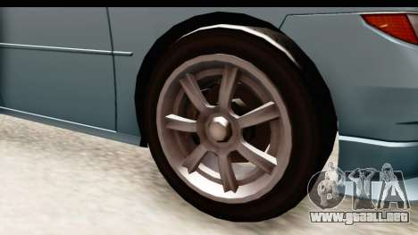 GTA 5 (4) Dinka Perennial IVF para GTA San Andreas vista hacia atrás