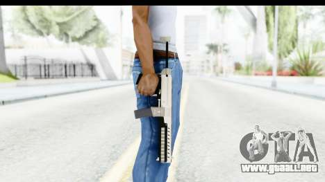 GTA 5 Coil Combat PDW para GTA San Andreas tercera pantalla