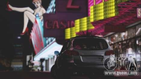 Hyundai Santa Fe Stock para visión interna GTA San Andreas