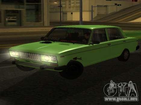 VAZ 2106 para GVR para GTA San Andreas