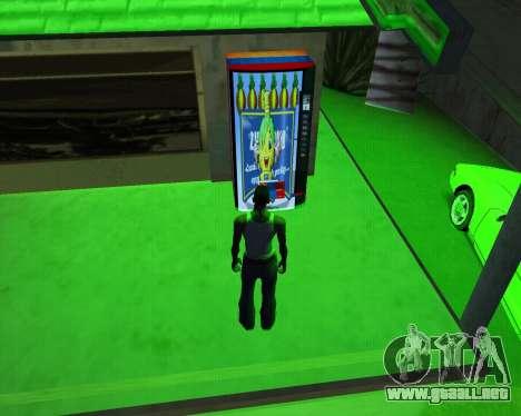 Nueva automática de Heno-Cola y la Bandera de ar para GTA San Andreas tercera pantalla