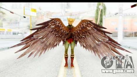 Injustice God Among Us - Hawk Girl para GTA San Andreas tercera pantalla