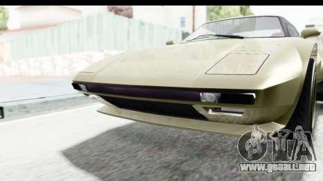 GTA 5 Lampadati Tropos Rallye IVF para visión interna GTA San Andreas