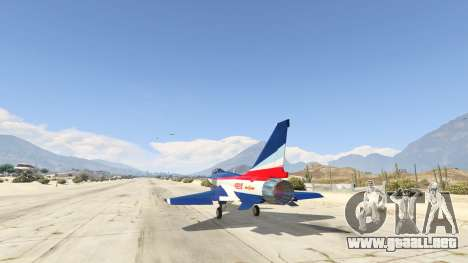 GTA 5 J-10A SY Aerobatic Team tercera captura de pantalla