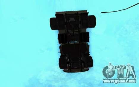 ZIL-130 Armenia para la vista superior GTA San Andreas