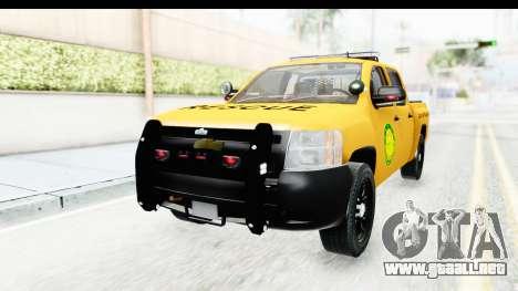 Chevrolet Silvedaro Basarnas para GTA San Andreas