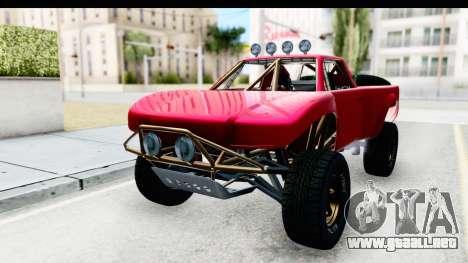 GTA 5 Trophy Truck SA Lights para GTA San Andreas
