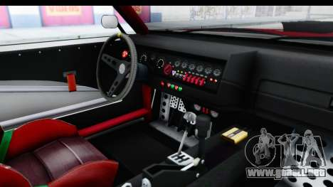 GTA 5 Declasse Drift Tampa IVF para visión interna GTA San Andreas