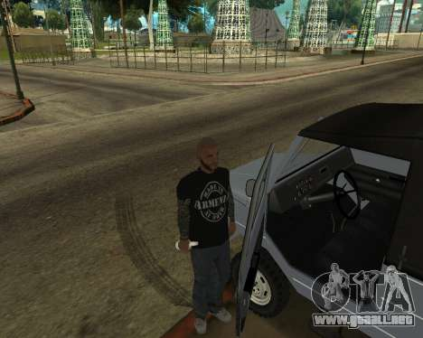 Luaz 969 Armenian para vista inferior GTA San Andreas