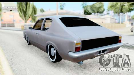 Ford Taunus Coupe para GTA San Andreas vista posterior izquierda