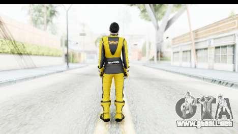 GTA 5 DLC Cunning Stuns Female Skin para GTA San Andreas tercera pantalla
