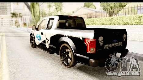 Ford F-150 Tuning para GTA San Andreas left