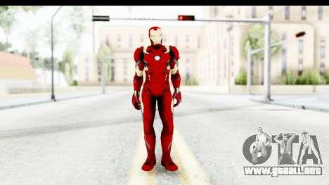 Marvel Heroes - Ironman Mk46 para GTA San Andreas segunda pantalla