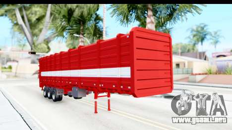 Trailer Cargo para la visión correcta GTA San Andreas