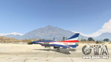 GTA 5 J-10A SY Aerobatic Team segunda captura de pantalla