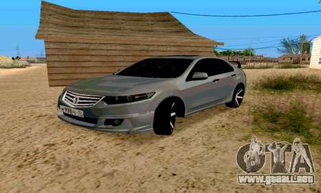 Honda Accord Type 2008 para GTA San Andreas