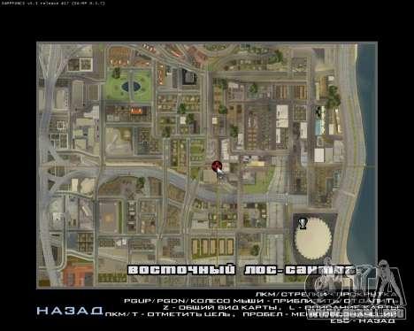 Grove Street Armenian Flag para GTA San Andreas quinta pantalla