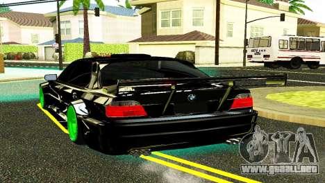 BMW 750 E38 Hamann Turbo Sports para GTA San Andreas left