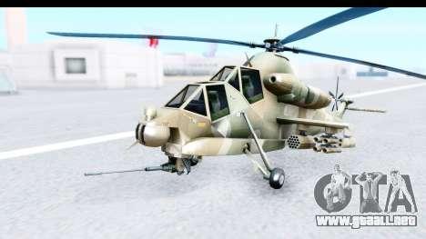Denel AH-2 Rooivalk para GTA San Andreas
