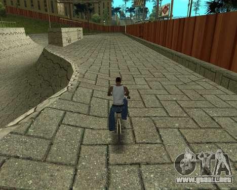 New HD Glen Park para GTA San Andreas quinta pantalla