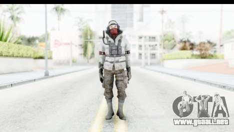 The Division Last Man Battalion - Leader para GTA San Andreas segunda pantalla