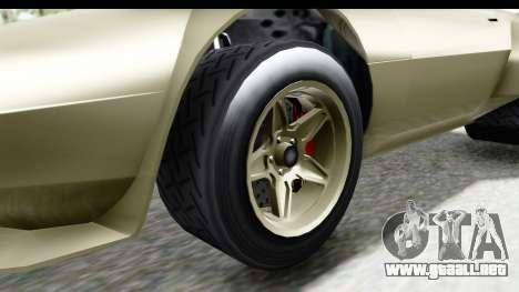 GTA 5 Lampadati Tropos Rallye IVF para GTA San Andreas vista hacia atrás