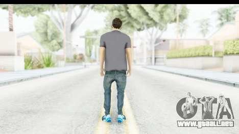 Lionel Messi Casual para GTA San Andreas tercera pantalla