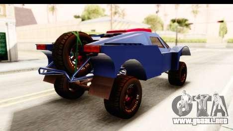 GTA 5 Desert Raid SA Lights para GTA San Andreas left