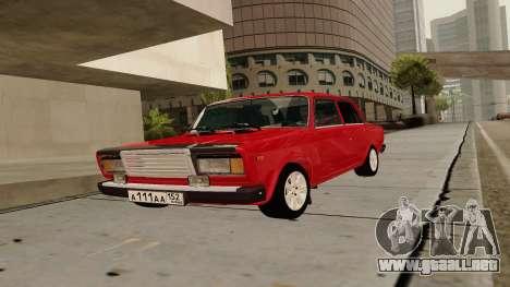 rus_racer ENB v1.0 para GTA San Andreas tercera pantalla