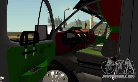 GAZelle 33023 Agricultor para vista lateral GTA San Andreas