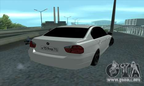 BMW 325i E90 para GTA San Andreas left