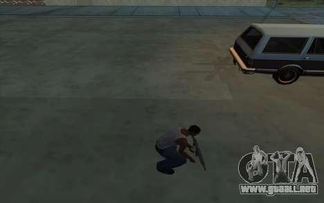 La posesión de armas para GTA San Andreas sucesivamente de pantalla