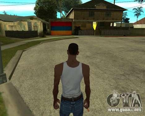 Garaje CJ armenia para GTA San Andreas sucesivamente de pantalla