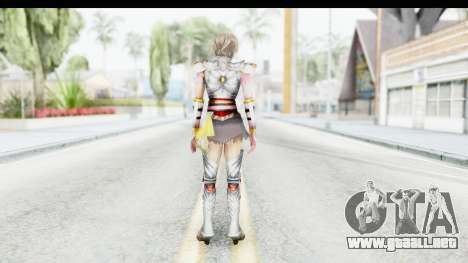 Dynasty Warriors 8 Xtreme Legends Lu Lingqi 2 para GTA San Andreas tercera pantalla