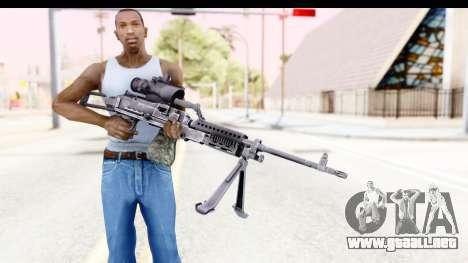 M240 FSK para GTA San Andreas tercera pantalla