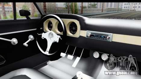 Ford Falcon Sprint para visión interna GTA San Andreas