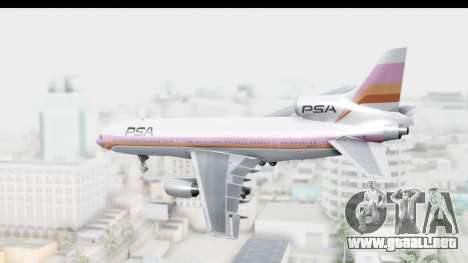 Lockheed L-1011-100 TriStar Pacific Southwest para GTA San Andreas left