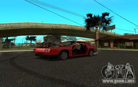 Buffalo (Tunning) para GTA San Andreas vista posterior izquierda