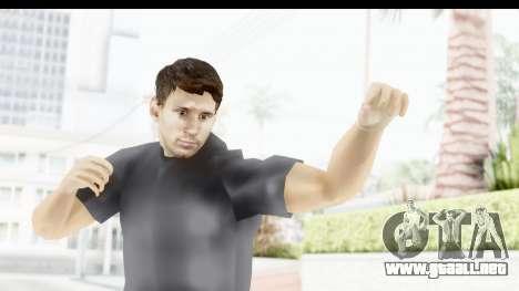 Lionel Messi Casual para GTA San Andreas