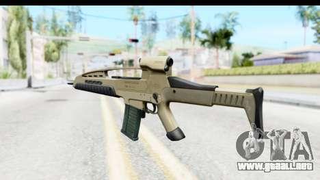 H&K XM8 para GTA San Andreas segunda pantalla
