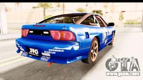 Nissan Sileighty 2015 D1GP para la visión correcta GTA San Andreas