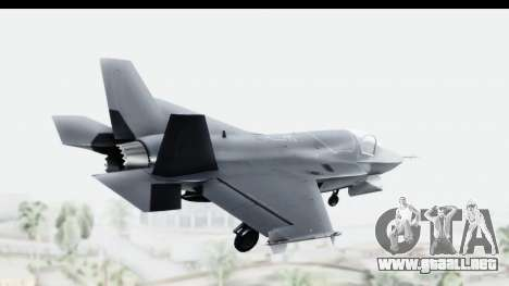 Lockheed Martin F-35B Lightning II para GTA San Andreas left