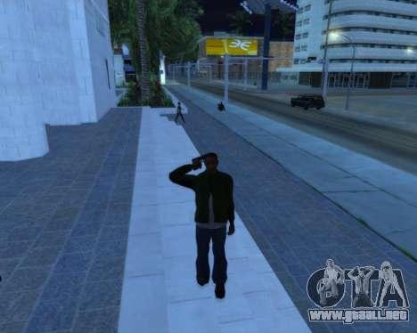Saludo para GTA San Andreas segunda pantalla