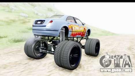 GTA 5 Enus Cognoscenti XL para GTA San Andreas left