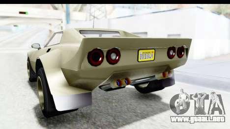 GTA 5 Lampadati Tropos Rallye IVF para vista inferior GTA San Andreas