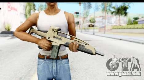 H&K XM8 para GTA San Andreas tercera pantalla