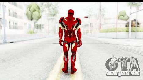Marvel Heroes - Ironman Mk46 para GTA San Andreas tercera pantalla